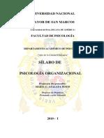 Psicologia Organizacional Version Corregida Atalaya Pisco 2010-I