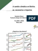 Cambio Climático Bolivia