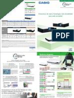 Catalogo Casio Proyectores 1.pdf