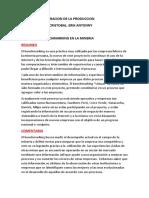 Benchmarking en La Mineria