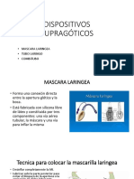 DISPOSITIVOS SUPRAGÓTICOS