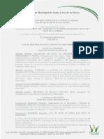 Ley Autonomica Municipal N 028-2014