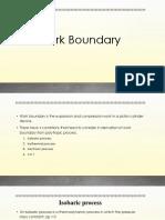 Work Boundary