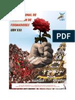 Plan Nacional de Formciònd e Formadores