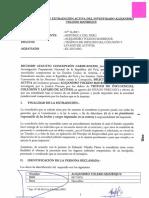 Solicitud de extradición contra expresidente Alejandro Toledo