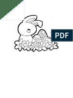 Colorea Al Conejo