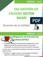 Calidad- Sector Salud
