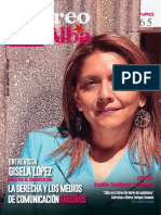 "Revista ""Correo del Alba"" No. 65 - Julio-Agosto, 2017"