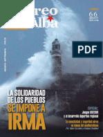 "Revista ""Correo del Alba"" No. 66 - Agosto-Septiembre, 2017"