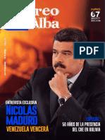 """Revista """"Correo del Alba"""" No. 67 - Septiembre-Octubre, 2017"""