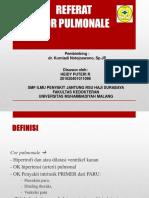 Referat Jantung - Cor Pulmonale