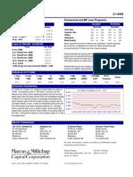 Capital Markets - 2/1/2008