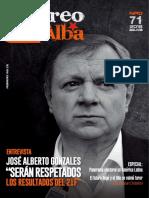 """Revista """"Correo del Alba"""" No. 71 - Febrero, 2018"""