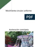 Movimiento Circular Uniforme 1