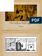 yellow wall paper themes