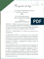 Proyecto de Ley - Inclusión Digital Para Las Personas Mayores