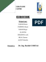 Projet Eurocode