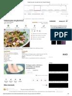 Salada de Polvo Com Grão de Bico, Receita Petitchef