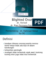 Presentasi Blighted Ovum