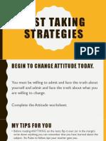 Part 3 Test Taking Strategies