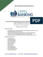 QHGdbopen Banking Draft Agenda