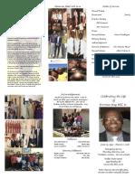 Dorman Ray Hill Sr. - Funeral Program