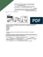 A.v.a Língua Portuguesa