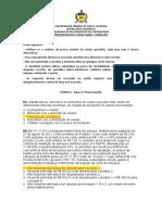 Prova Contabilidade Mestrado Edital 01 2013 Turma 2014