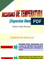 Aula 01 - Medidas de Temperatura