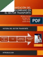 Organización Del  Sector Transporte