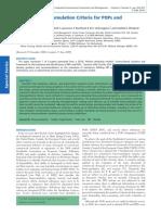 Bioaccumulation Criteria for POPs and PBTs