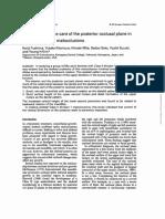 1996 EJO - Significancia Del Plano Oclusal en Clase II-1