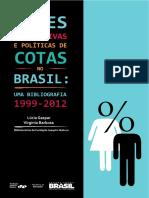 Acoes Afirmativas e Politicas de Cotas Brasil