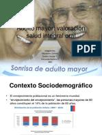 Contexto Sociodemográfico salud oral en chile