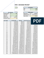 Envion Pricing Worksheet
