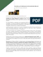 Stf Aceita Acordo de Delação Premiada Do Senador Delcídio Do Amaral