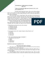 Soal Latihan UNBK Bahasa Inggris Kelas 9