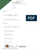 Integrales Trigonométricas Con Exponente