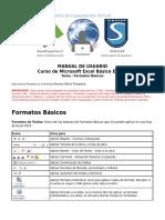 Manual Curso Microsoft Excel Básico Demo - Formatos Básicos