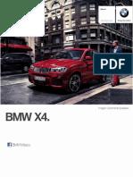 Ficha Tecnica Bmw x4 Xdrive28ia x Line Automatico 2015