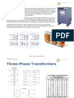 3 Phase Transformer-basics Theory