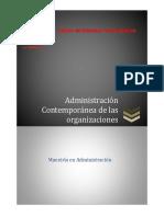 Administracion Contemporanea de Las Organizaciones