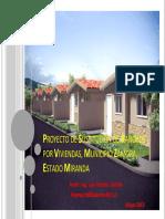Proyecto Sustitución de Ranchos Por Viviendas