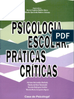 Psicologia Escolar Práticas Criticas