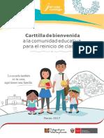 Cartilla Bienvenida Reiniciodeclases