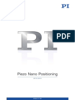 PI Precision Positioning Stages Complete Catalog 2013-14