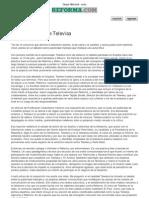 Grupo Reforma - Nota - Televisa