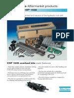 COP 1638 Overhaul Kit