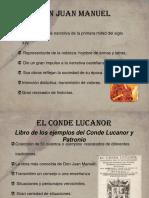 Presentación El Conde Lucanor 2º ESO