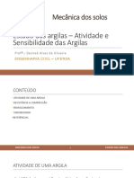 Aula 8 - Estado Das Argilas - Atividade e Sensibilidade (1)